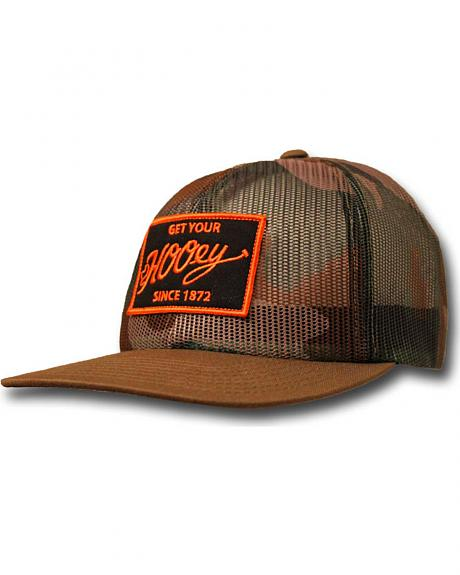 HOOey Men's Camo Mesh Grab Trucker Hat