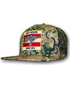 Hooey Men's Camo Ziggy Trucker Hat