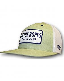 Hooey Cactus Ropes Light Green Patch Trucker Cap