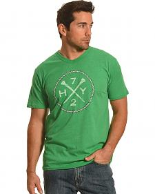 Hooey Men's Green HY72 T-Shirt