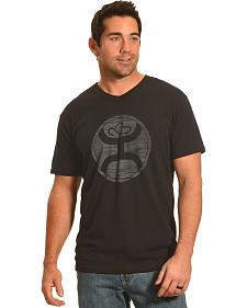 Hooey Men's Black V-Neck Logo 2.0 Sport T-Shirt