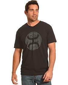 Hooey Men's Black V-Neck Logo 2.0 Sport T-Shirt