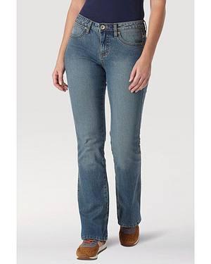 "Wrangler Jeans - Aura Instantly Slimming Stretch - Regular Rise - 30""- 34"""