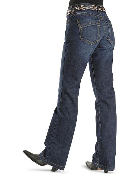 Ariat Denim Jeans - Amber Midnight Indigo Relaxed Fit - 33