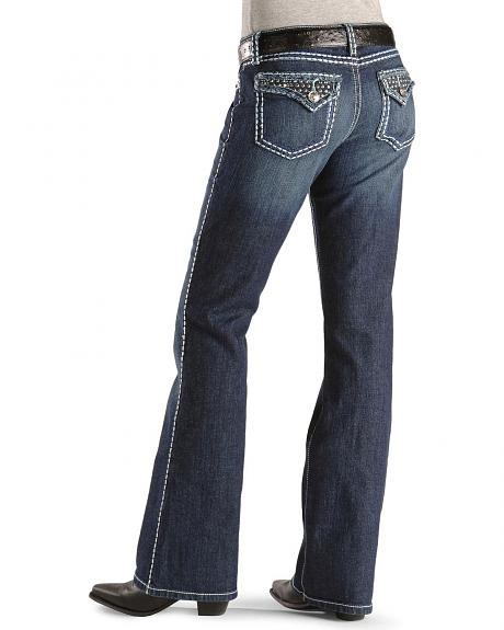 Wrangler Jeans - Rock 47 Denver Darling Slim Fit - 32
