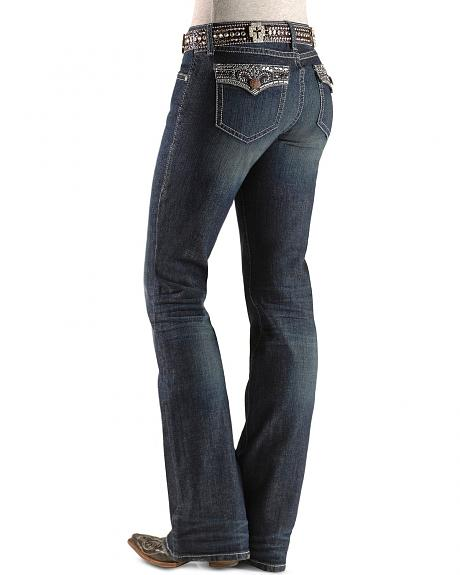 Wrangler Rock 47 Ladies' Laramie Sunset Jeans - 34
