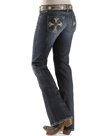 Wrangler Rock 47 Ladies' Grand Saline Jeans - 34