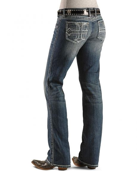 Wrangler Jeans - Rock 47 Perfect Poison Slim Boot Cut - 32
