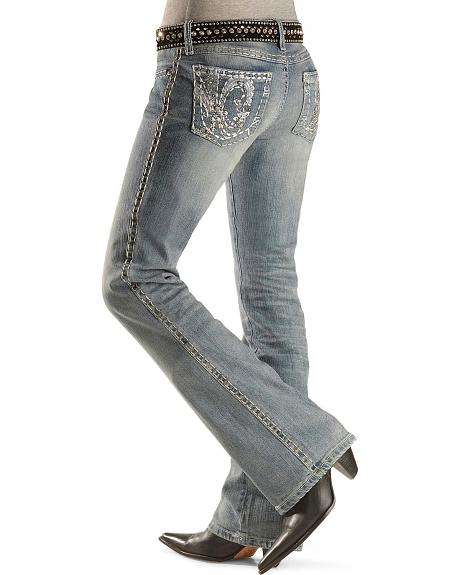 Wrangler Rock 47 Ladies' Rock Ballad Jeans - 34