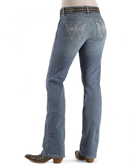 Wrangler Jeans - Angel Wing Pockets Booty Up - 30