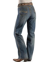 Wrangler Jeans - Aura Tinsel Town Instantly Slimming Denim Jeans - 30