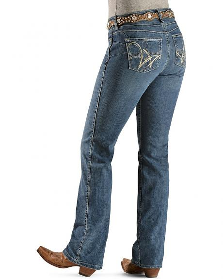 Wrangler Q-Baby Ultimate Riding with Booty Up Technology Jeans