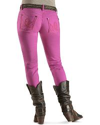 Wrangler Booty Up Purple Skinny Jeans at Sheplers