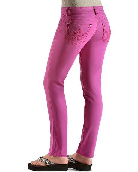 Wrangler Booty Up Purple Skinny Jeans