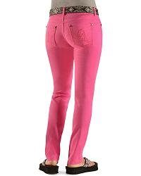 Wrangler Booty Up Hot Pink Skinny Jeans at Sheplers