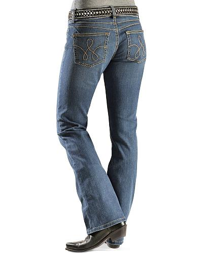 Wrangler Booty Up Rope Stitched Back Pocket Jeans Western & Country 10MWZNB