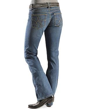 Wrangler Booty Up Rope Stitched Back Pocket Jeans