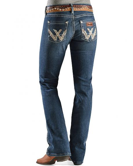 Wrangler Jeans - Sadie Premium Patch Boot Cut Jeans - 30