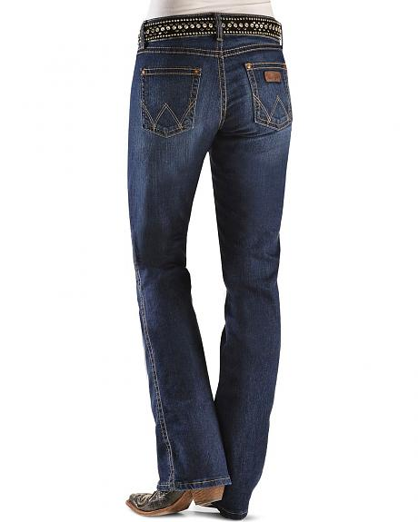 Wrangler Jeans - Premium Patch Mae Boot Cut Jeans - 30
