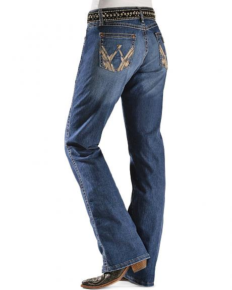 Wrangler Jeans - Traditional Denim Mae Premium Patch Jeans - 30