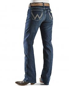 "Wrangler Jeans - Silver-Tone Stitching Ultimate Riding Jeans - 30""-36"""