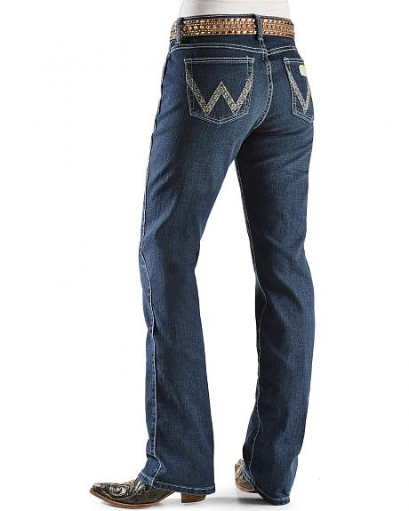 Wrangler Jeans - Silver-Tone Stitching Ultimate Riding Jeans - 30