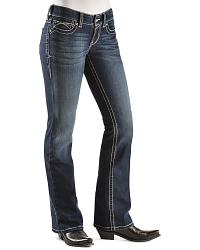 Ariat Real Denim Spitfire Bootcut Riding Jeans at Sheplers