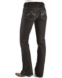 Ariat Real Denim Black Bootcut Riding Jeans at Sheplers