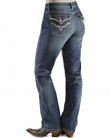 Wrangler Jeans - Aura Instantly Slimming Flap Pocket Bootcut Jeans