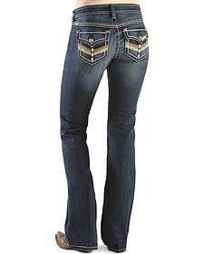 Ariat Women's Turquoise Santa Fe Loveless Bootcut Jeans