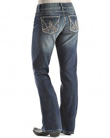Wrangler Booty Up Exclusive Stitch Pocket Bootcut Jeans