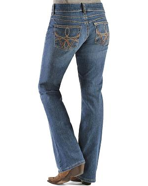 Wrangler Booty Up Premium Patch Pocket Bootcut Jeans