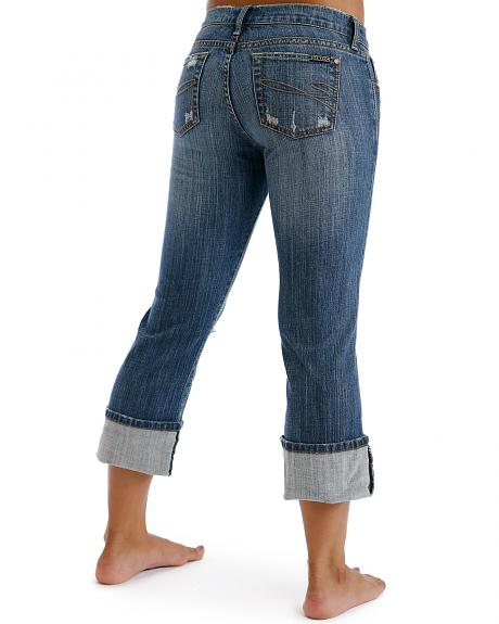 Stetson Women's 816 Classic Cropped Jeans