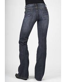 Stetson Women's 816 Classic Fit Dark Indigo Bootcut Jeans