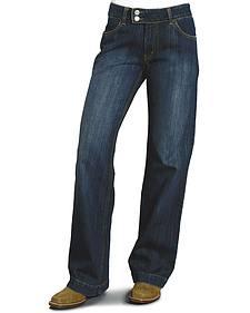 "Stetson Women's 214 Fit City Trouser Jeans - 33"" Long"