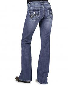 Stetson Women's 816 Classic Fit Embellished Bootcut Jeans