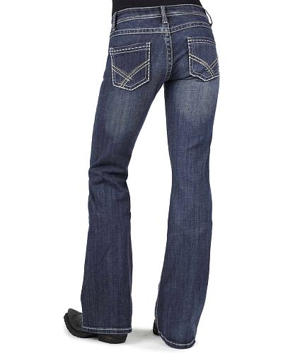 Stetson Womens 816 Classic Fit Bootcut Jeans Western & Country 11-054-0816-0723 BU
