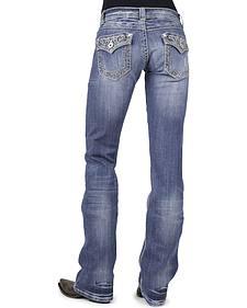 Stetson Women's 818 Rhinestone Bootcut Jeans