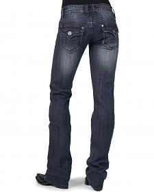 Stetson Women's 818 Contemporary Arrow Bootcut Jeans