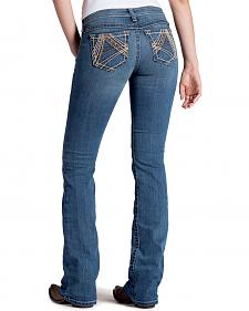 Ariat Women's Ruby Copper A Lonestar Bootcut Jeans