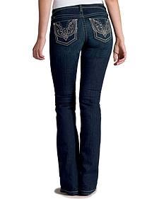 Ariat Women's Turquoise Firebird Bootcut Jeans
