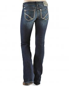 Ariat Women's Ruby Frayed Edge Loveless Bootcut Jeans
