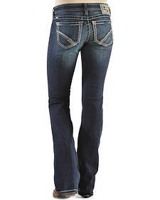 Ariat Women's Ruby Frayed Edge Loveless Bootcut Jeans