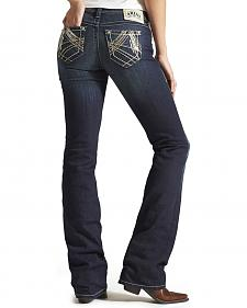 Ariat Women's Ruby Sequin A Starlight Bootcut Jeans