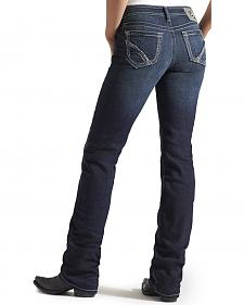 Ariat Amber Frayed Edge Starlight Jeans