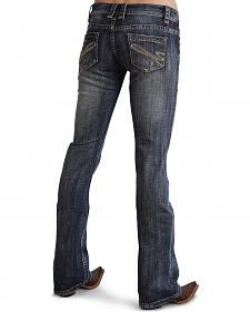 "Stetson Women's 818 Fit Contemporary ""S"" Stitch Bootcut Jeans"