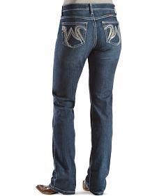 Wrangler Cowgirl Cut Q-Baby Ultimate Riding Jeans - Boot Cut