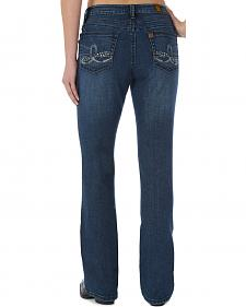 Wrangler Aura Women's Embellished Jeans with BootyUp Technology