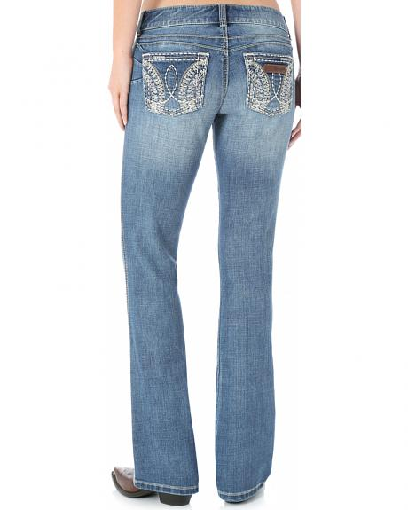 Wrangler Women's Sadie Heavy Side Pocket Stitching Jeans