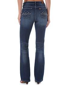 Wrangler Aura Instantly Slimming Swirl Pocket Jeans